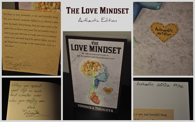 The Love Mindset Authentic Edition by Vironika Tugaleva