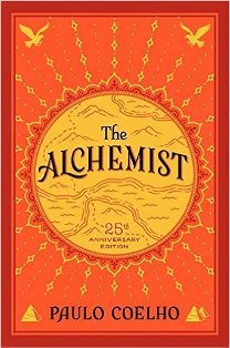 Recommended read: The Alchemist by Paulo Coelho