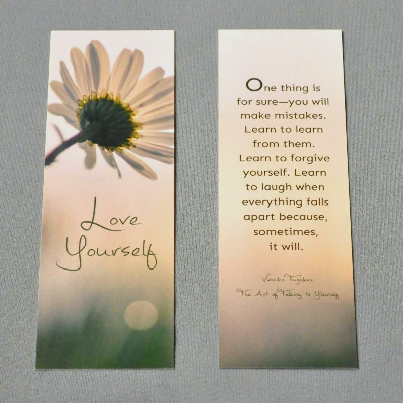 Love Yourself Bookmark